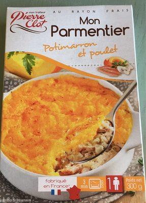 Mon parmentier Potimarron et poulet - Product