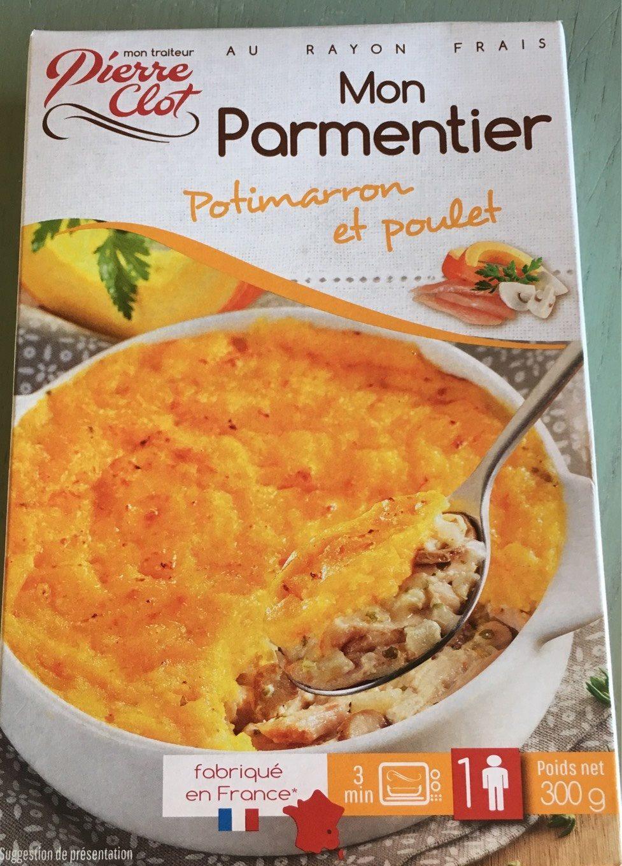 Mon parmentier Potimarron et poulet - Product - fr