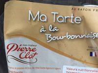 Ma Tarte à la Bourbonnaise - Product