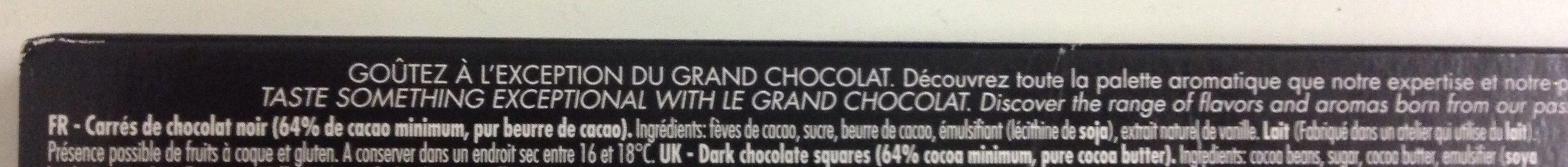 Initiation grands crus - Ingrediënten