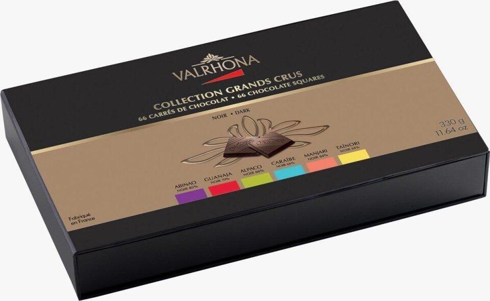 66 Carrés De Chocolat Noir Collection Grands Crus - Produit - fr