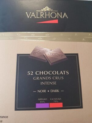 Chocolats grands crus intense - Product