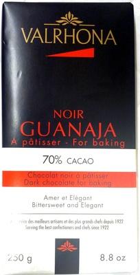 Noir Guajana for baking 70% cocoa - Product