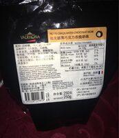 Perles craquantes chocolat noir - Product