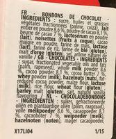Fizzy Botte Maxi Choco - Ingrédients - fr