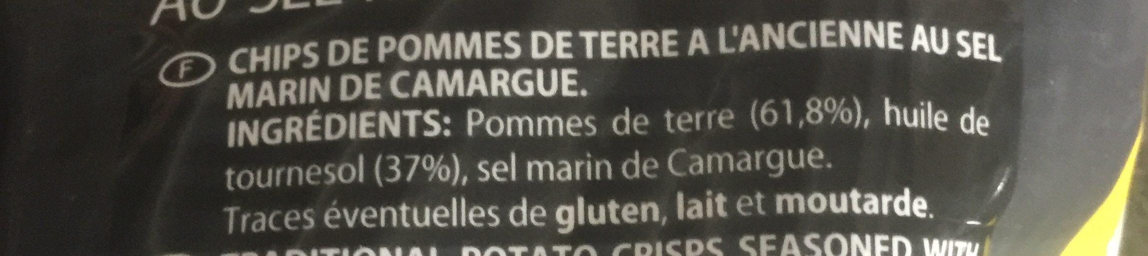 Chips à l'ancienne - Ingrédients - fr