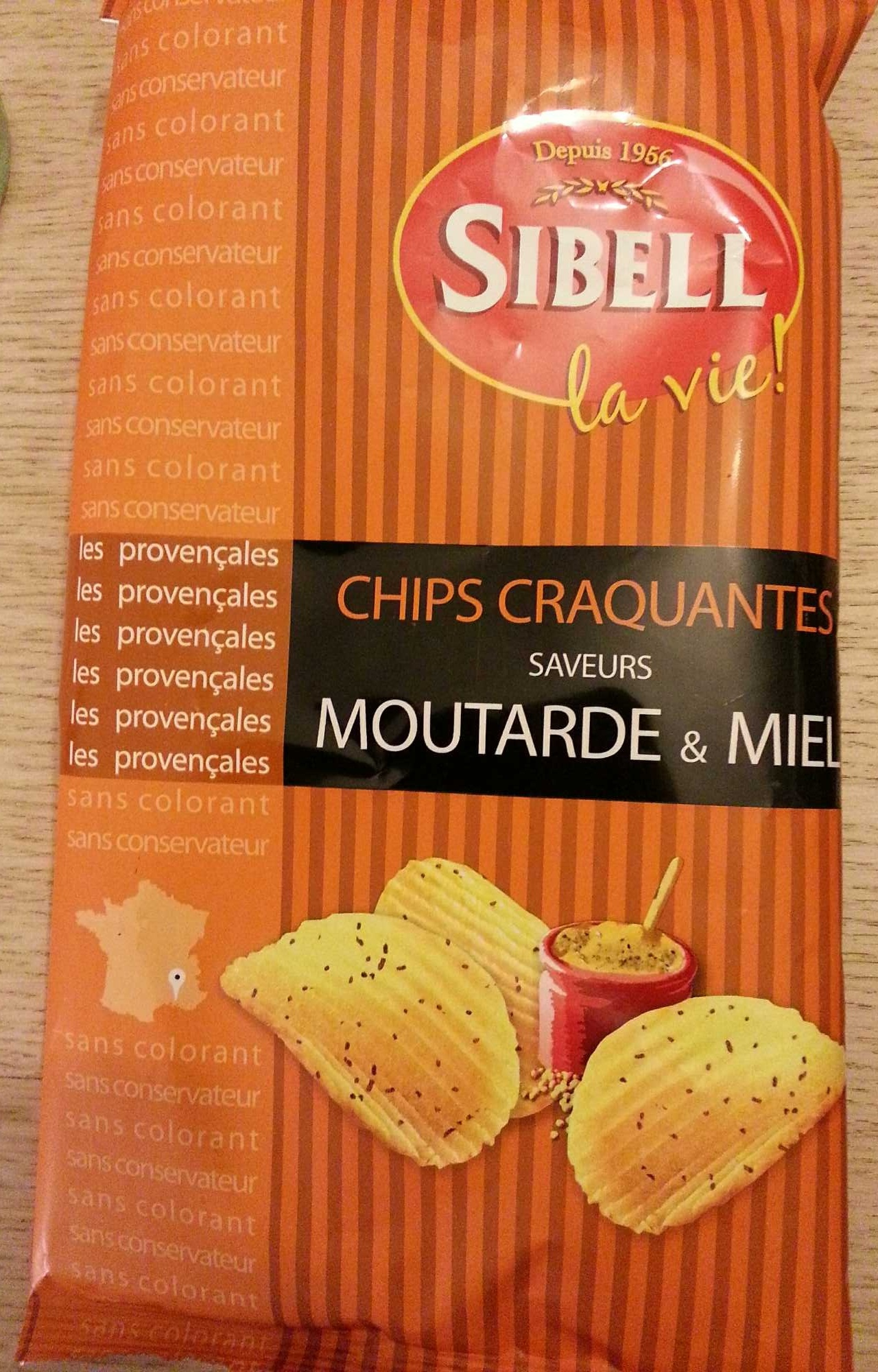 Chips moutard&miel - Product