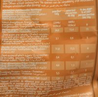 Chips moutard&miel - Nutrition facts