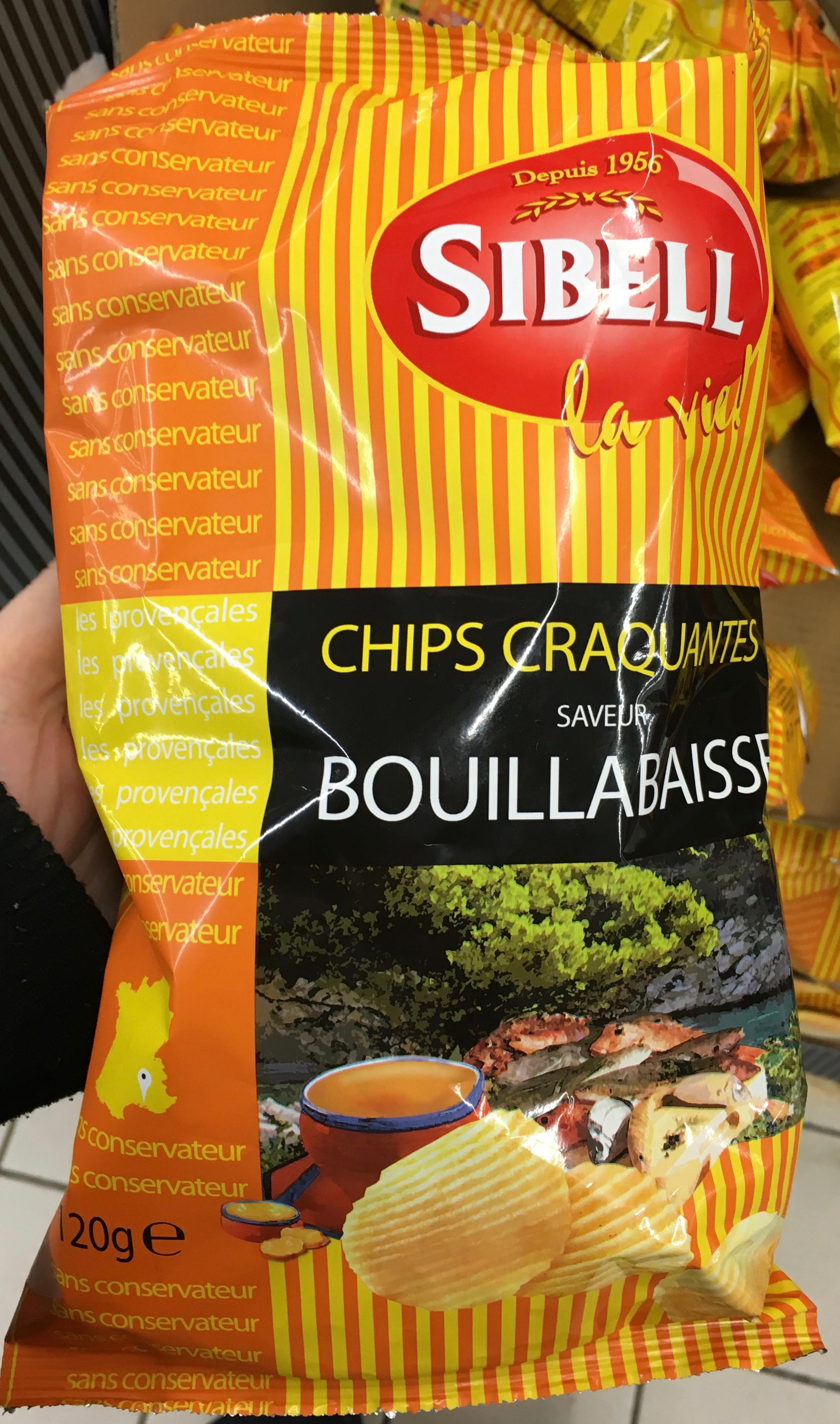 Chips craquantes saveur bouillabaisse - Produit - fr