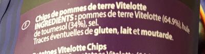 Chips bleues pommes de terre Vitelotte - Ingredienti - fr