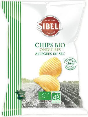 CHIPS BIO ONDULEE ALLEGEE EN SEL - Produit - fr