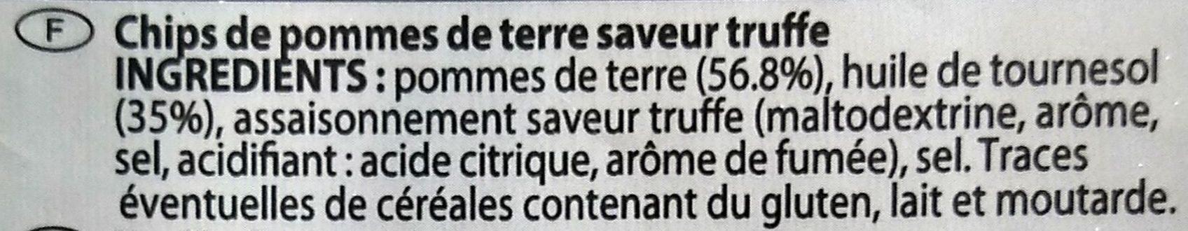 Chips saveur Truffe - Ingrédients - fr