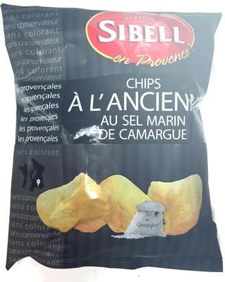 Chips à l'ancienne sel marin de Camargue - Product