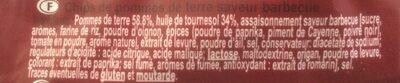 Chips Barbecue - Ingrédients - fr