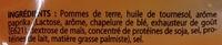 Chips saveur Paprika - Ingrediënten - fr
