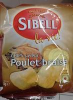 Chips saveur Poulet braisé - Produit - fr