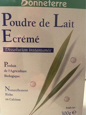 Bonneterre poudre de lait écrémé - Produit - fr