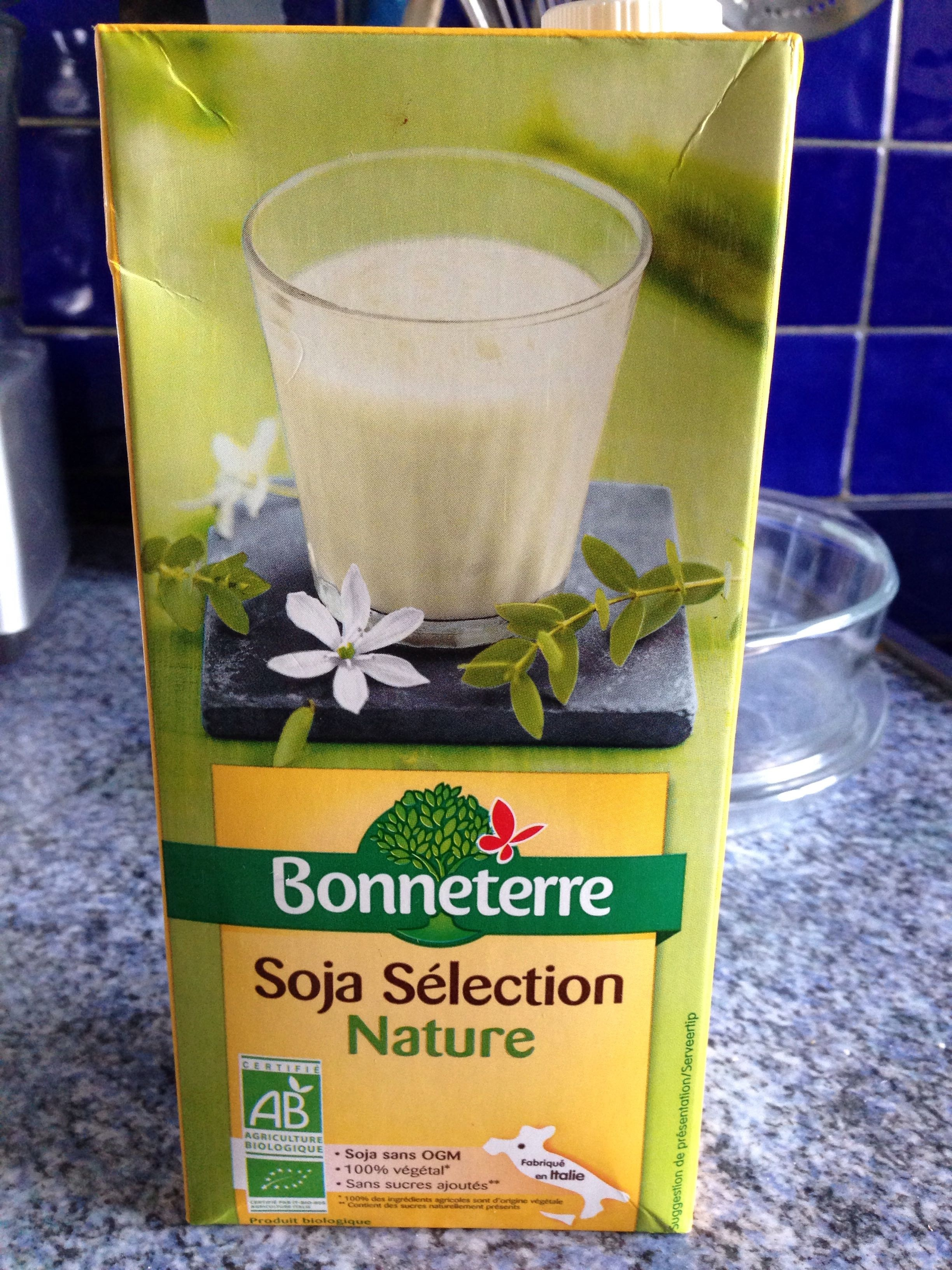 Lait de soja sélection nature - Product
