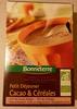 Petit dejeuner Cacao & céréales - Product