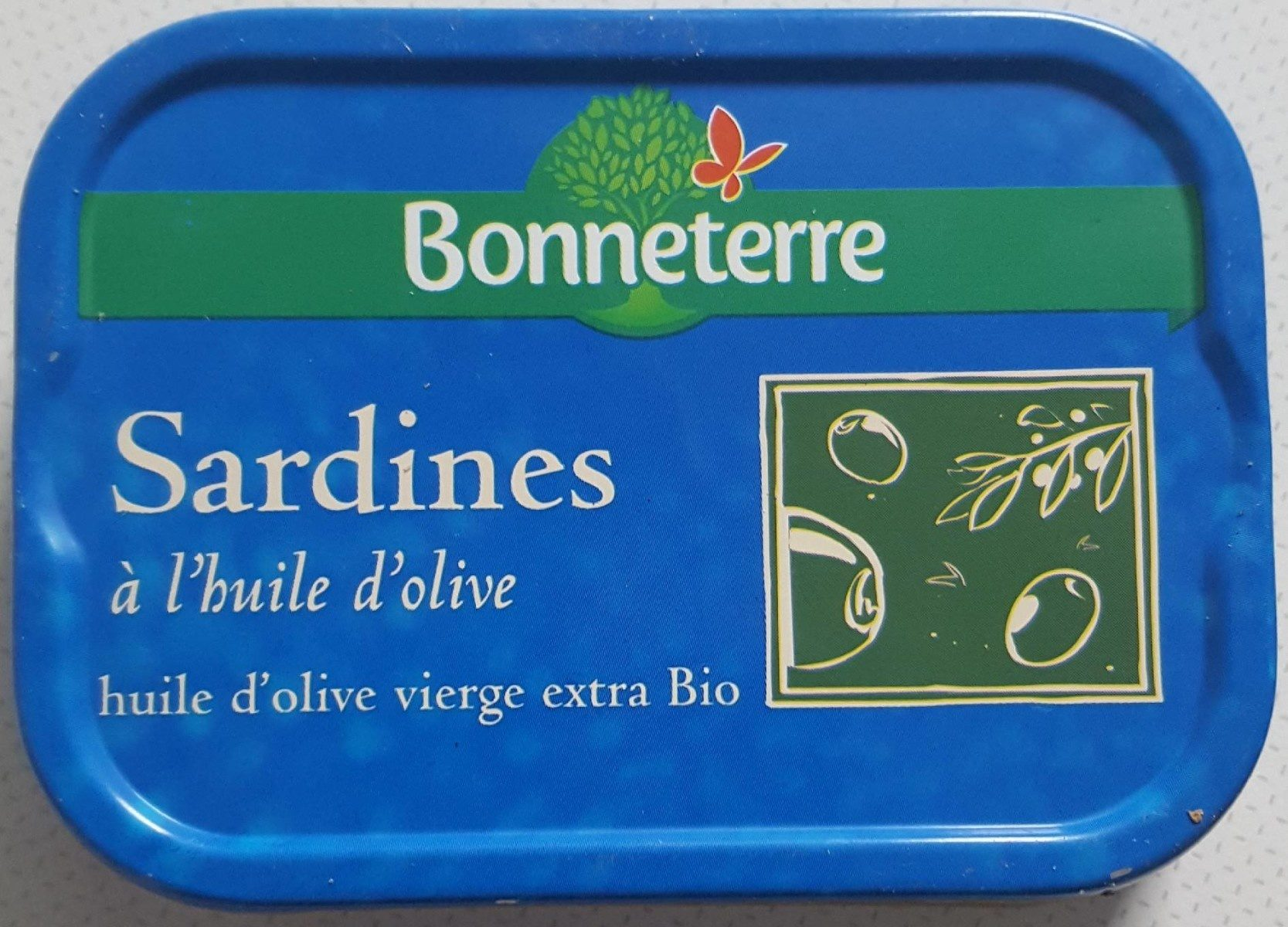 Sardines Huile Olive - Produit - fr