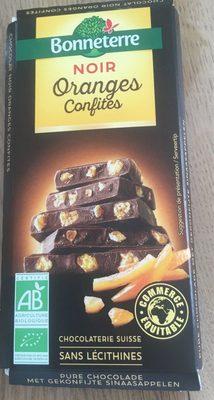 Chocolat Noir Oranges Confites - Product