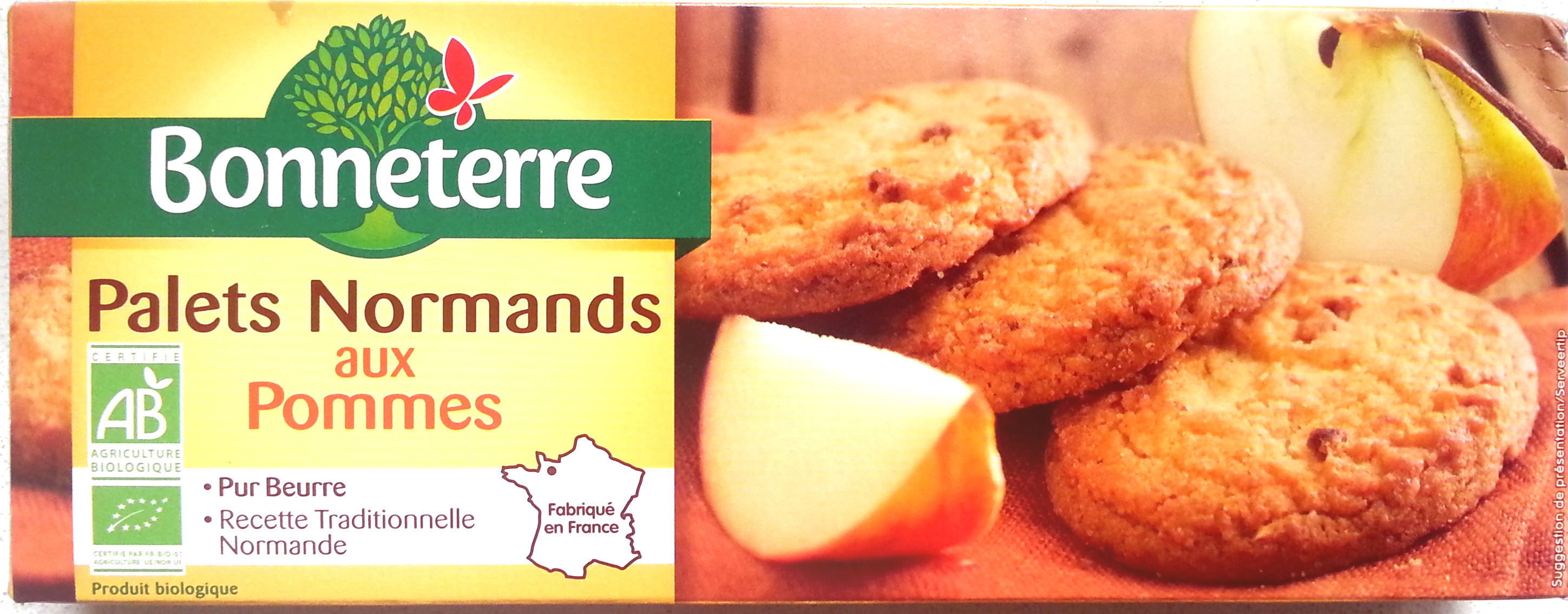 Palets normands aux pommes - Produit - fr