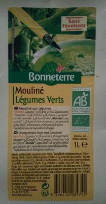 MOULINE DE LEGUMES VERTS - Product - fr
