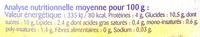 Sojadélice Abricot Goyave - Informations nutritionnelles - fr