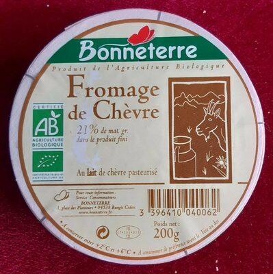Fromage de Chèvre (21% MG) - Produit - fr