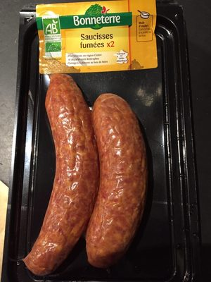 Saucisses Fumees X2 - Product - fr