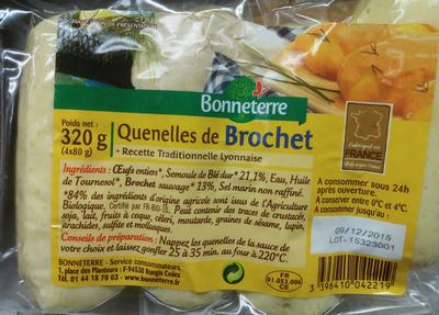 Quenelles de Brochet - Produit