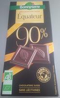 Chocolat Noir équateur 90% - Product