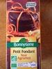 Petit fondant noir agrumes - Product