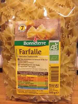 Farfalle - Produit