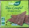 Pain Complet Graines de Lin - Produit
