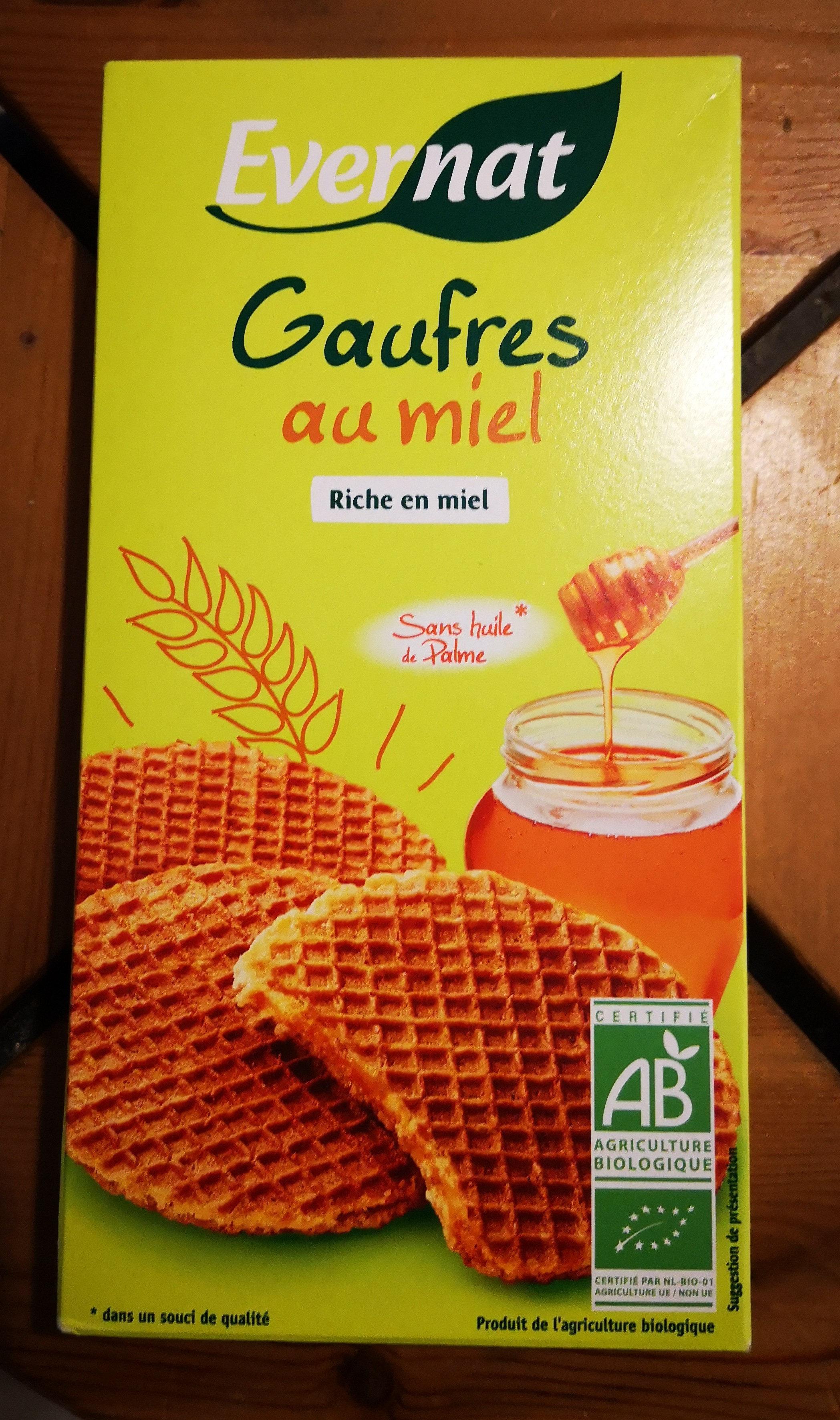 Gaufres Miel - Product