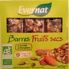 Barres Fruits secs - Produit