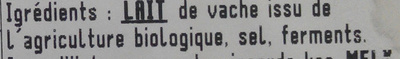 Fourme d'Ambert - Ingrediënten - fr