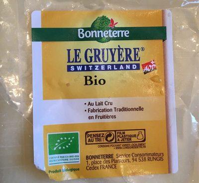 Gruyere Suisse Aoc Au Lait Cru - Product - fr
