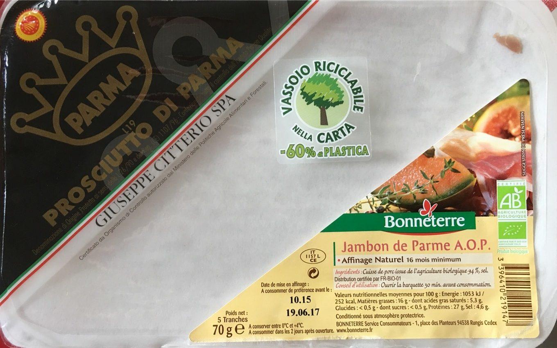 Jambon De Parme Dop Origine Italie - Product - fr