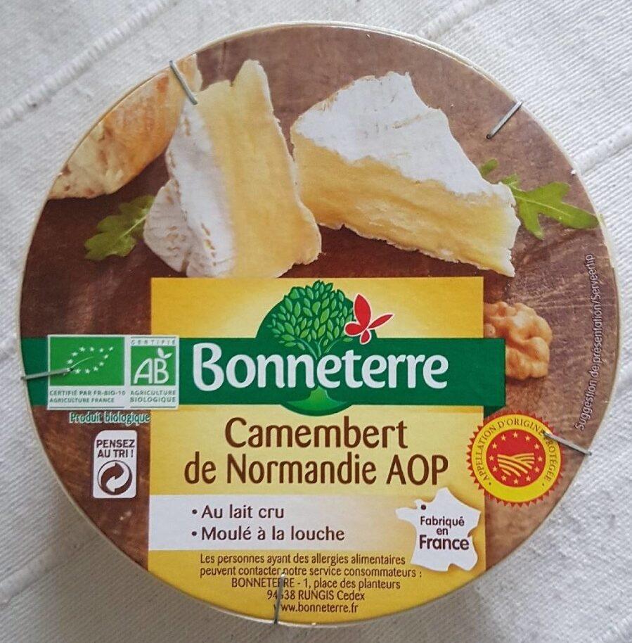 Camembert de Normandie AOP au lait cru AB - Product - fr