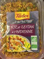 Riz et seitan à l'indienne - Product