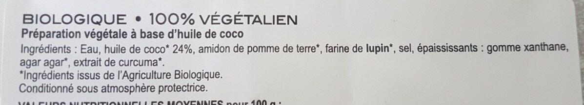 vegeese - Ingredients - fr