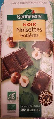 Chocolat Noir Noisette - Produit