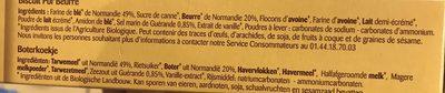 Petit normand nature - Složení - fr
