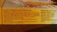 Bonneterre - Ingrediënten - fr