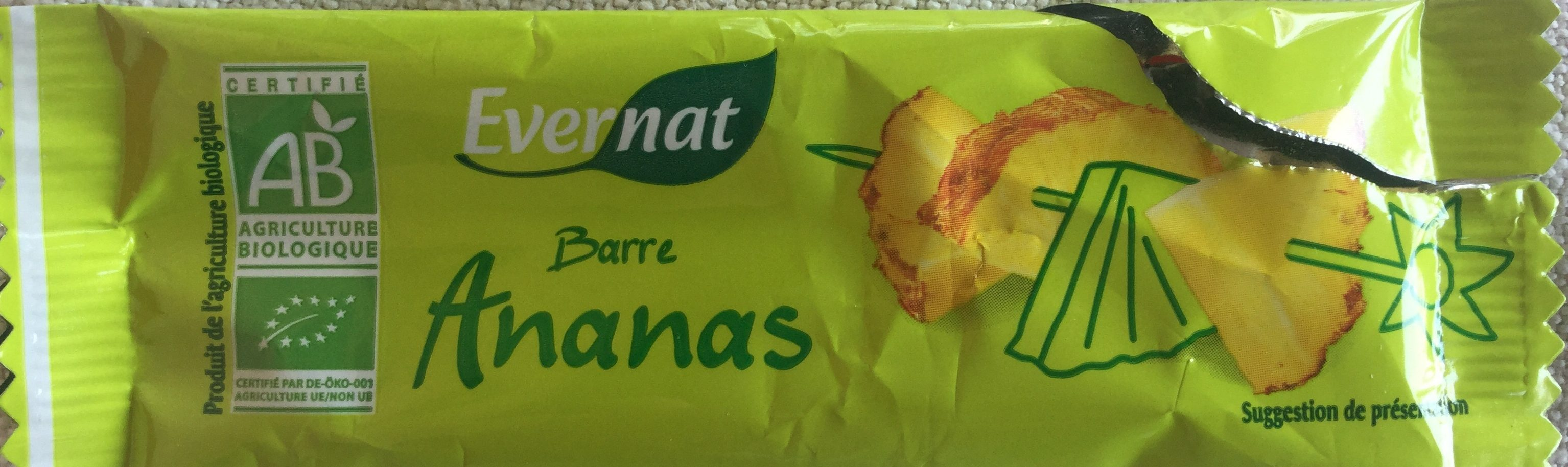 Barre Ananas - Product