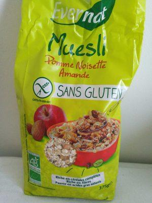 MUESLI pomme noisette amande sans gluten - Produit