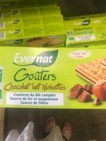 Gouters Chocolat Lait Noisette - Informations nutritionnelles - fr