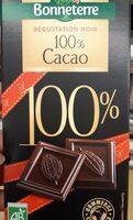 Chocolat 100% cacao - Produit - fr